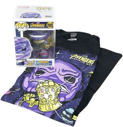 Infinity War - Thanos T-Shirt plus Funko - Fan Package