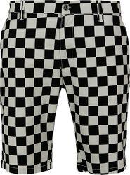Check Twill Shorts