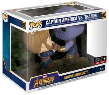Infinity War - Captain America vs Thanos (Movie Moments) Vinylfiguur 698
