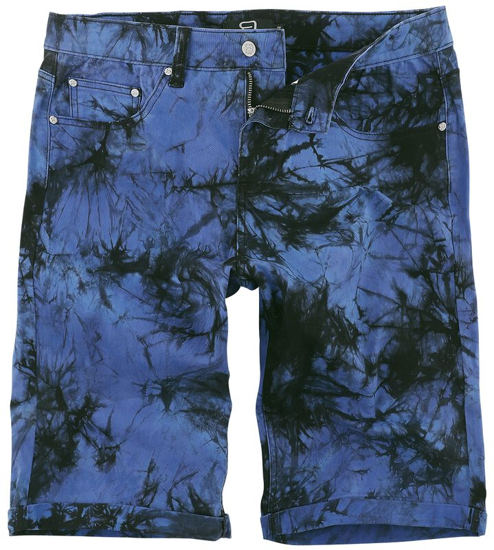 Blue Shorts with Wash