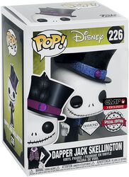 Dapper Jack Skellington (Glitter Diamond Collection) Vinylfiguur 226