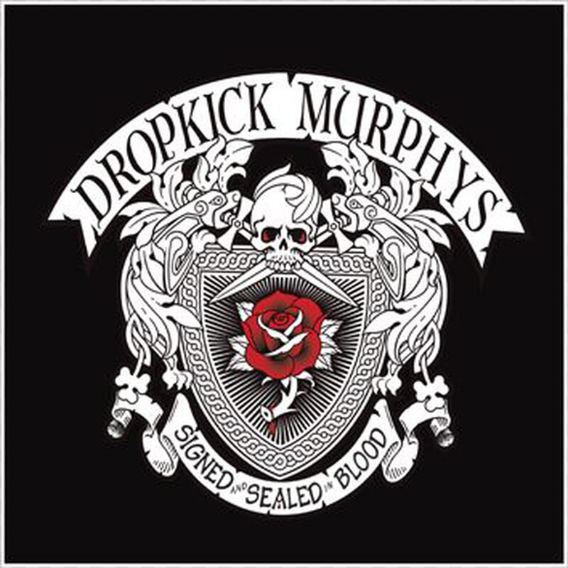 Signed And Sealed In Blood Dropkick Murphys Cd Large