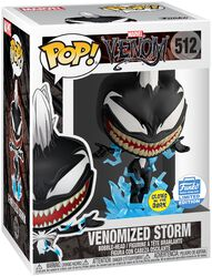 Venomized Storm (GITD) (Funko Shop Europe) Vinylfiguur 512