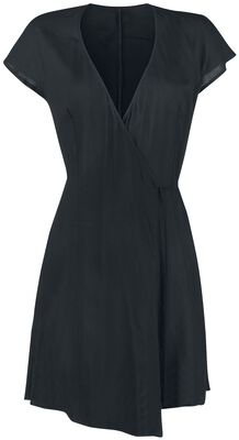 Wrap Dress With Waist Tie