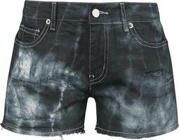 Destroyed Vintage Five Pocket Denim Hot Pant