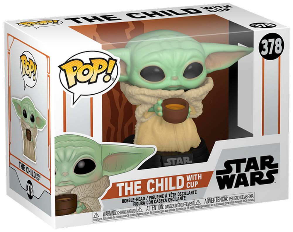 The Mandalorian - The Child with Cup Vinylfiguur 378