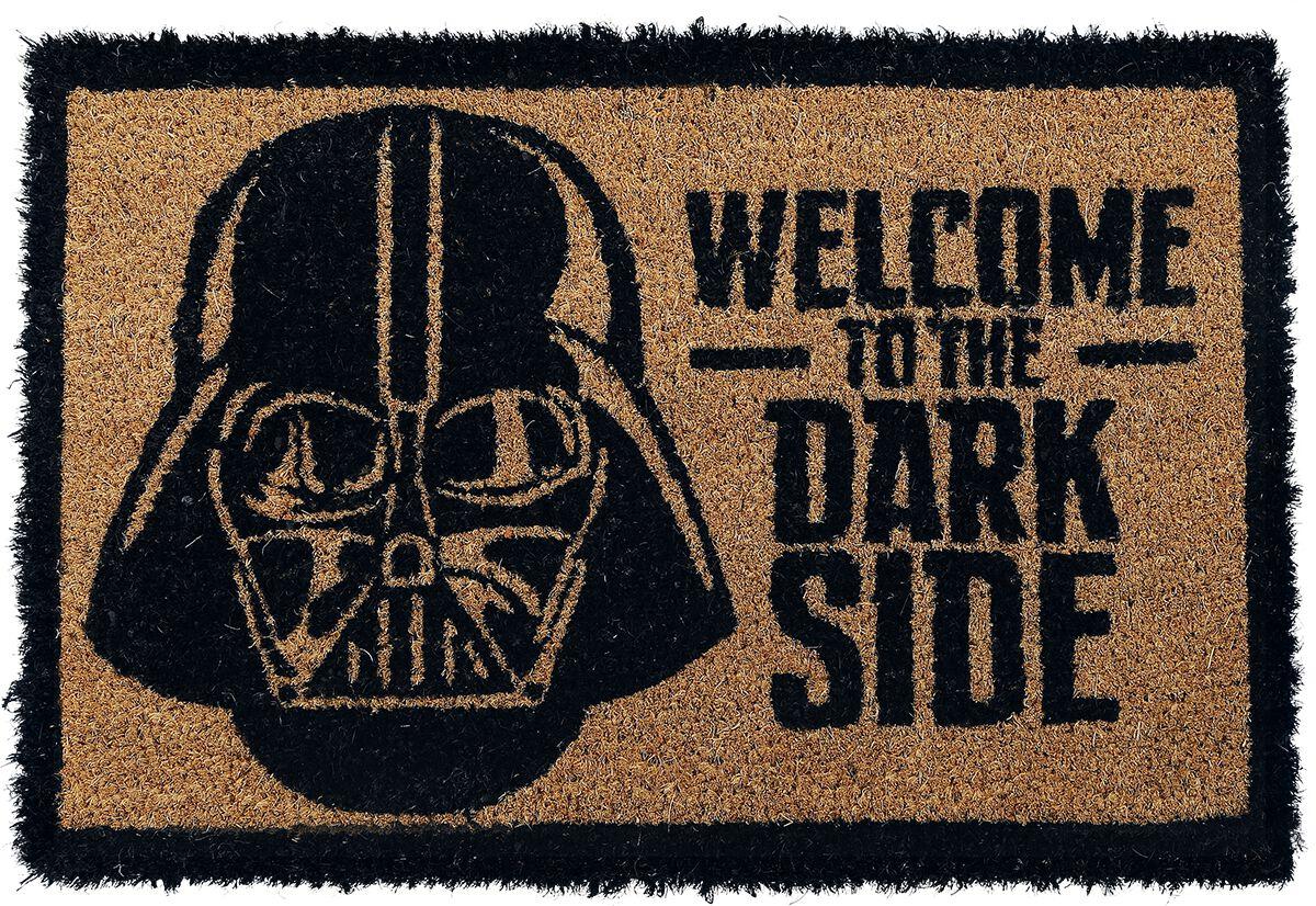 Uitzonderlijk Welcome To The Dark Side   Star Wars Deurmat   Large BO87