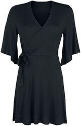 Side Knotted Sleeve Dress