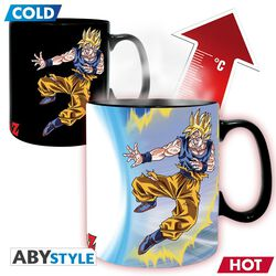 Z - Goku vs Buu - Heat Change Mug