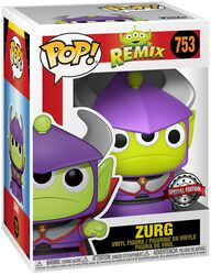 Alien As Zurg (Metallic) Vinyl Figur 753