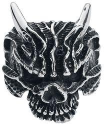 Mad Skull Ring