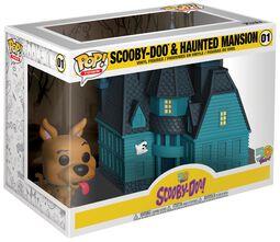 Scooby Doo Scooby Doo and Haunted Mansion (Pop! Town) Vinylfiguur 01
