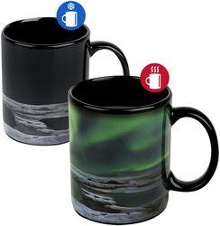 Northern Lights - Heat-Change Mug Northern Lights - Heat-Change Mug
