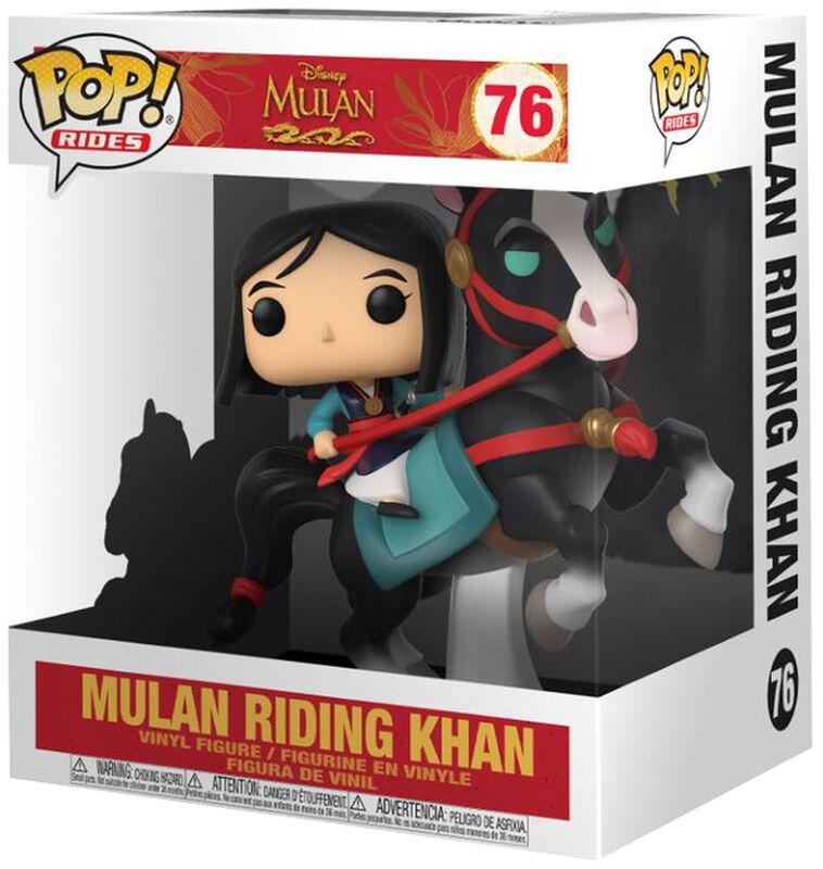 Mulan on Khan POP! Rides Vinylfiguur 76