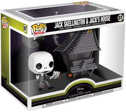 Nightmare Before Christmas Jack Skellington and Jacks House - Vinylfiguur 07