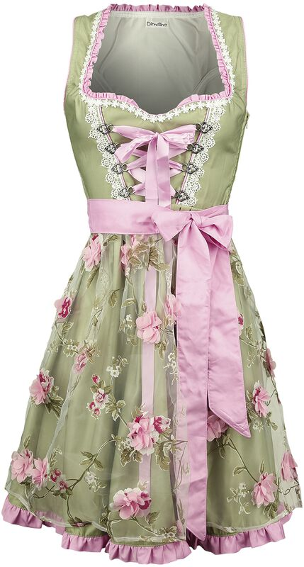 Dirndl with flower apron