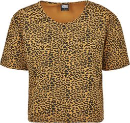 Ladies Short Oversized Leo Tee