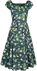 Dolores Tropical Bird Doll Dress