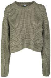 Ladies Wide Oversize Sweater
