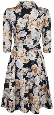 Glamorous Flower Tea Dress