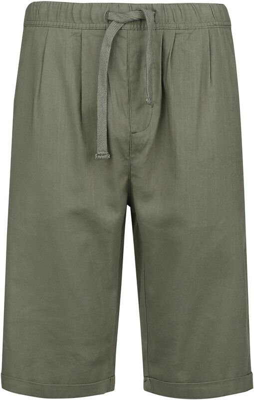 Khaki Shorts Made From Light Material