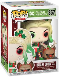 Harley Quinn With Helper (Holiday) Vinylfiguur 357