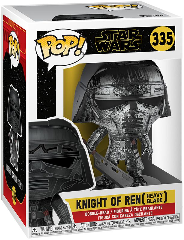 Episode 9 - The Rise of Skywalker - Knight of Ren (Heavy Blade) (Chrome) Vinylfiguur 335
