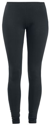 Leggings with Lacing and Bow Print