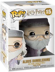 Dumbledore with Magic Wand Vinylfiguur 15
