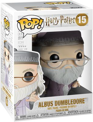 Dumbledore with Magic Wand Vinylfiguur 15
