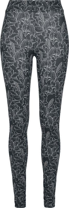 Ladies AOP Hibiscus Leggings