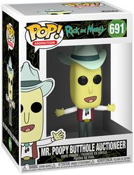 Season 4 - Mr. Poopy Butthole Auctioneer Vinylfiguur 691