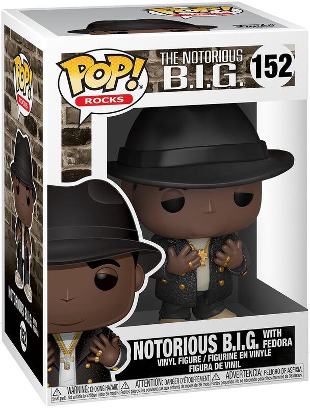 Notorious B.I.G Rocks With Fedora Vinylfiguur