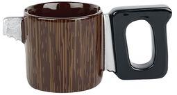 Saw Mug Saw-Look Mug