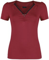 Red Lilly Shirt