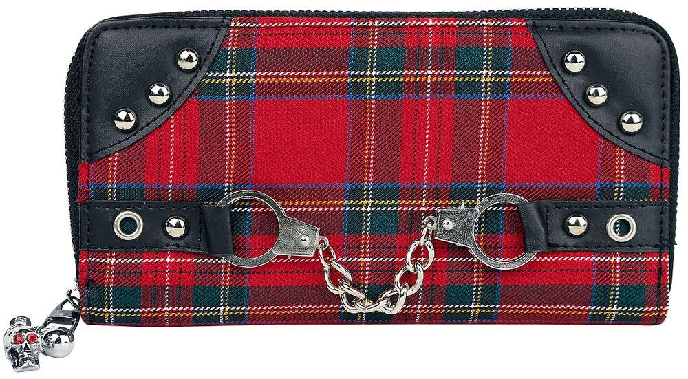 Red Tartan Wallet