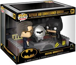 80th - Batman and Commissioner Gordon (Movie Moments) Vinylfiguur 291