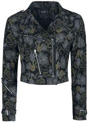 Slither Crop Biker Jacket