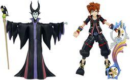 3 - Maleficent & Sora