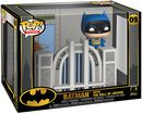 Batman with Hall of Justice (Pop! Town) Vinylfiguur 09