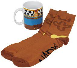 Woody - Mug with Socks