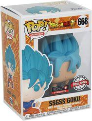 Super - SSGSS Goku Vinylfiguur 668