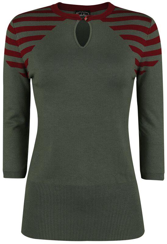 Caroline Striped Sweater