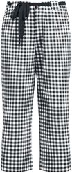 Plaid Cherries Culottes Pants