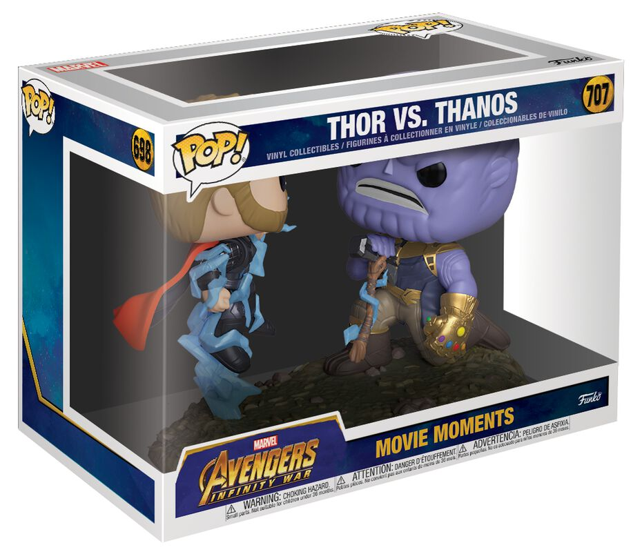 Thor vs. Thanos (Movie Moments) Vinylfiguur 707