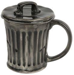 Rubbish Bin 3D Mug