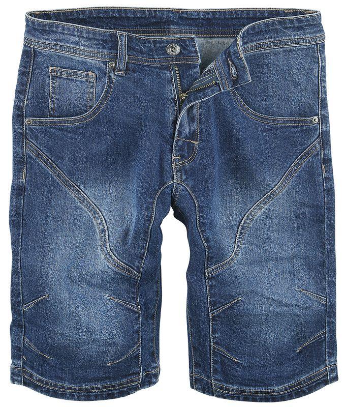 Seamed Knee Shorts