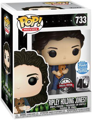 40th - Ripley Holding Jonesy (Funko Shop Europe) Vinylfiguur 733