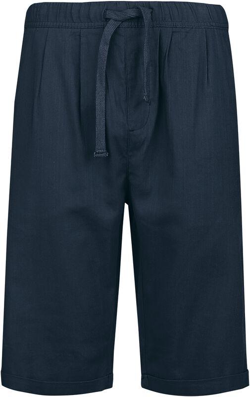 Dark Blue Shorts in Light Material