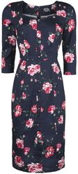 Lana Floral Wiggle Dress